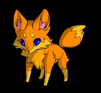 ok. Sparkstorm ginger cat with white paws. Fihsty, Brave, Loyal, Sesetive, has a huge crush on firestar