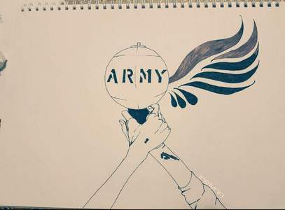 i have been an ARMY for over a año o less, sadly i could not enjoy the other eras but it's ok because i amor BTS.
