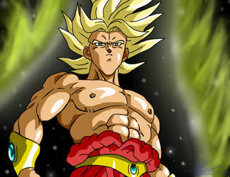 Broly (The Legendary Super Saiyan) & Goku