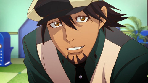 Kotetsu from Tiger and Bunny.
