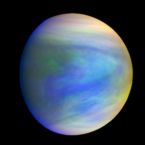 I'd combine Venus with Uranus. I Imagine it would look spectacular!