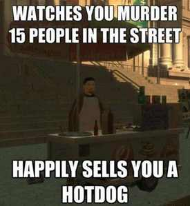 GTA Logic in a nutshell.