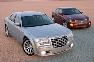Cadillac's & Chryslers.