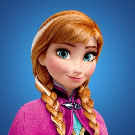 Anna from Frozen.
