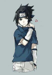 My favoriete character is Sasuke.