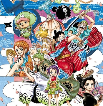 Wano Country Arc 2) Skypea 3) Fishman island