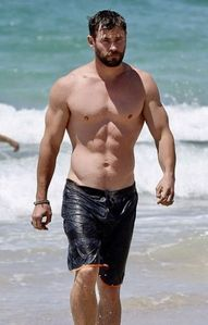 hey,Chris got abs?He so ABS-olutely fucking does!!!!!!!!!!!