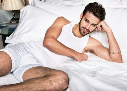 Ryan Guzman's hairy legs