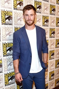 Thor live and in person in my hometown in 2017 for Comic Con...wish I'd been there