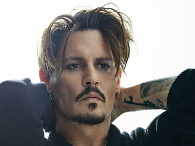 Johnny Depp...I have seen some of his movies,but I have never had of a crush of been in love with him