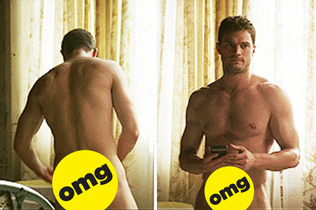 Jamie with a spot covering his front and his backside