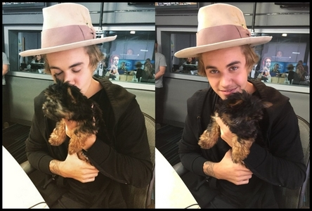 Justin with Esther <3