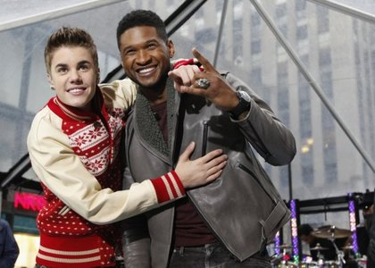 Justin and アッシャー !