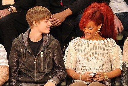 Justin's a fan of Rihanna!