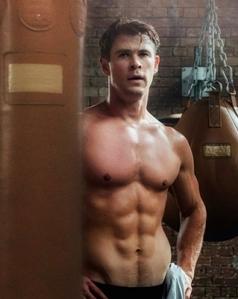 Thor's Godly chest<3