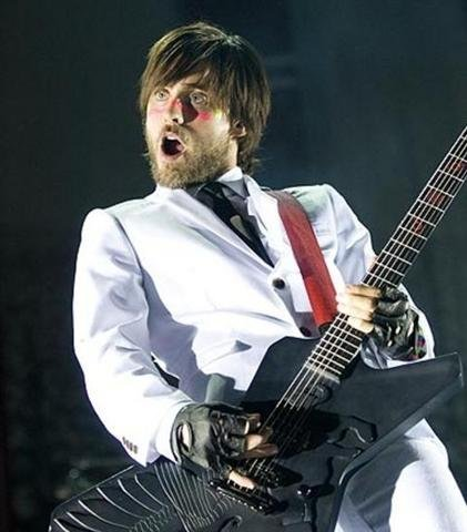 Jared rockin on the guitar, gitaa
