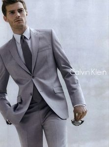 Jamie modeled for a lot of the big fashion houses,including Calvin Klein.Here he his looking divine in Klein