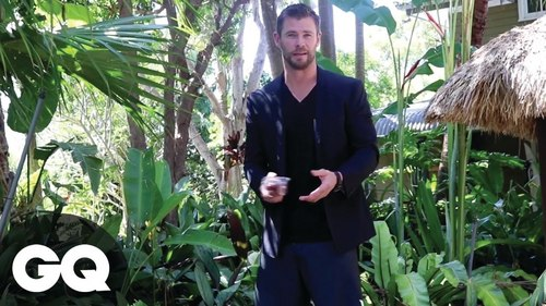 it's a jungle out there...and a mighty hot one at that with Chris there<3