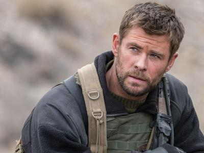 Chris who played a soldier in the movie,12 Strong