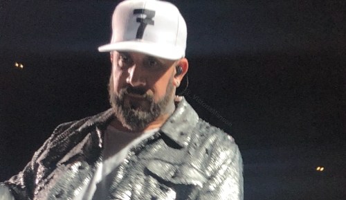 Took this of AJ McLean from the backstreet boys last night in Glasgow ! 14th June 2019 ❤️
