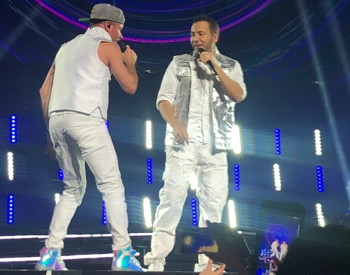 Brian and Howie ! Took this <3