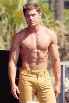 Efron's amazing abs