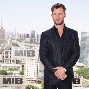 Chris in Russia on June 6 promoting MIB International