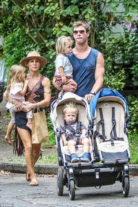 Chris and wife Elsa have 3 kids - their daughter,India and twin boys,Tristan and Sasha