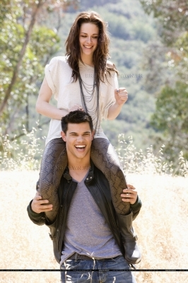 Tay with Kristen on his shoulders