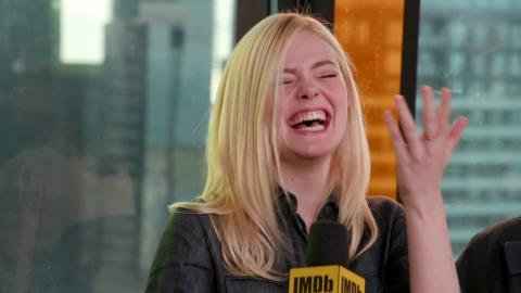I think this one of Elle Fanning is my favorite. It makes me smile.