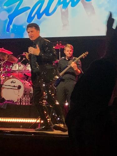 Pic I took of John last night in Edinburgh ❤️