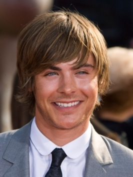 Efron's getting shaggy with it