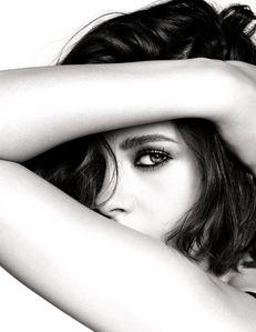 part of Kristen's lovely face