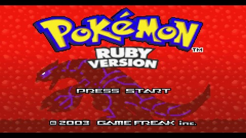 Yep, I do as well. Pokemon Ruby on the Gameboy Advance. A Friend had let me borrow it for a while and it was at that point that I set my goals towards Video Gaming !!!!