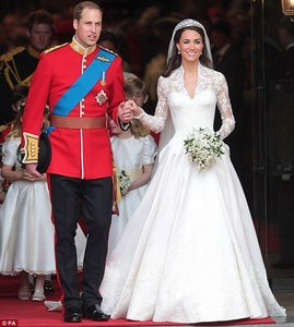 Kate Middleton, technically not a celebrity but her dress was so gorgeous.