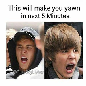 Yawn time !