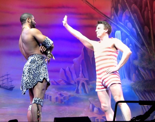 Robinson Crusoe panto was the first time I ever seen John and I loved him from the moment he came on stage ! That was 21st December 2011 ❤️