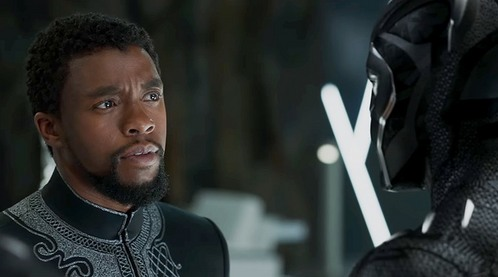 after seeing Black con beo, panther this year,I've started liking Chadwick Boseman,who plays T'Challa,aka Black con beo, panther