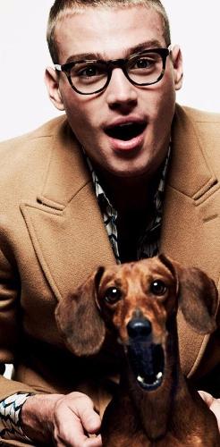 Matty with a dog ^_^