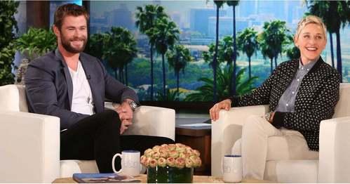 my favorit Aussie on my favorit talk show,Ellen