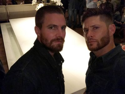 Amell with Ackles