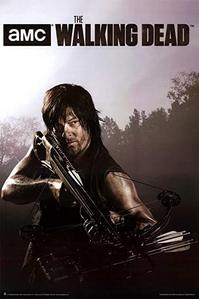Daryl Dixon from The Walking Dead. I also have a poster from the tv Zeigen Riverdale on my wall.