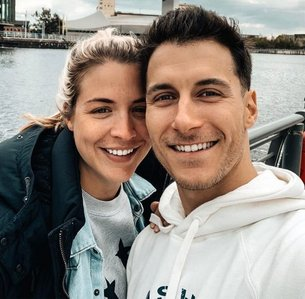 Gemma Atkinson with her fiancée !