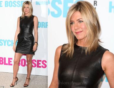 Jen in a sleeveless dress