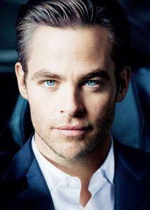 Mr.Pine's oh so fine blue eyes
