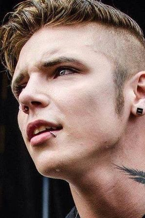 Andy with a pierced lip