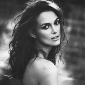 lovely Keira in b&w