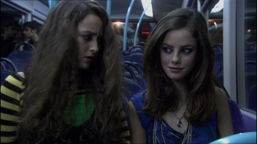 Kaya Scodelario flirting with some बिना सोचे समझे guy in Skins.