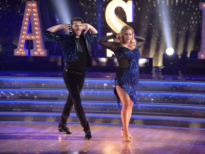 Sasha Pieters dancing on Dancing with the stars