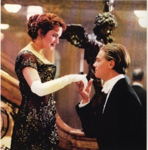 a regal,Titanic Rose wearing gloves
